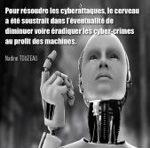 """Citation extraite livre """"Net-profiling : analyse comportementale des cybercriminels"""" de Nadine Touzeau, profiler, net-profiler, chercheur en comportement des cybercriminels"""