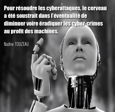 "Citation extraite livre ""Net-profiling : analyse comportementale des cybercriminels"" de Nadine Touzeau, profiler, net-profiler, chercheur en comportement des cybercriminels"