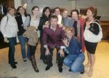 PEG, Manchester promo Nov 1, with Cliff Lansley, Nadine Touzeau....