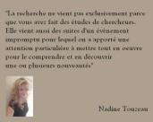 Recherche Nadine Touzeau Profiler, net-profiler, chercheur en comportement des cybercriminels