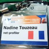 Cardiff, 2018 Nadine TOUZEAU, speaker